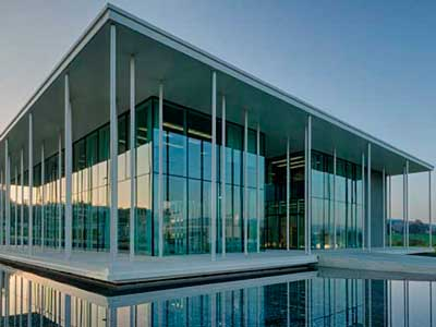 Combi glass for facade and window