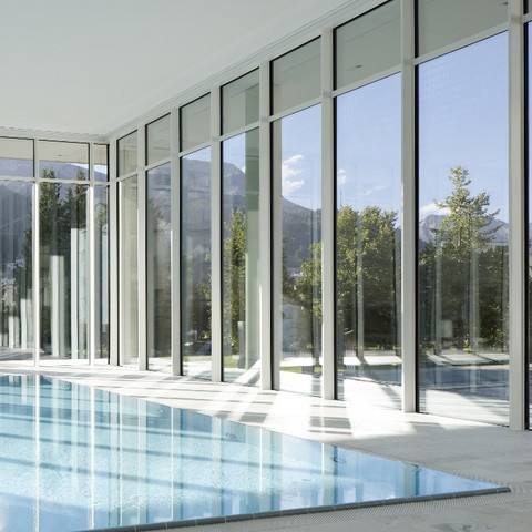 OVAVERVA indoor swimming pool, spa & sports centre in St.Moritz