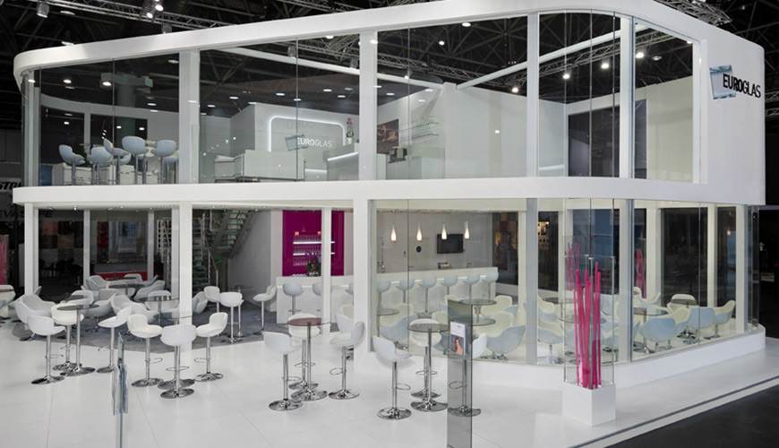 Frontansicht glasstec 2014