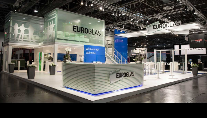 Messestand Euroglas