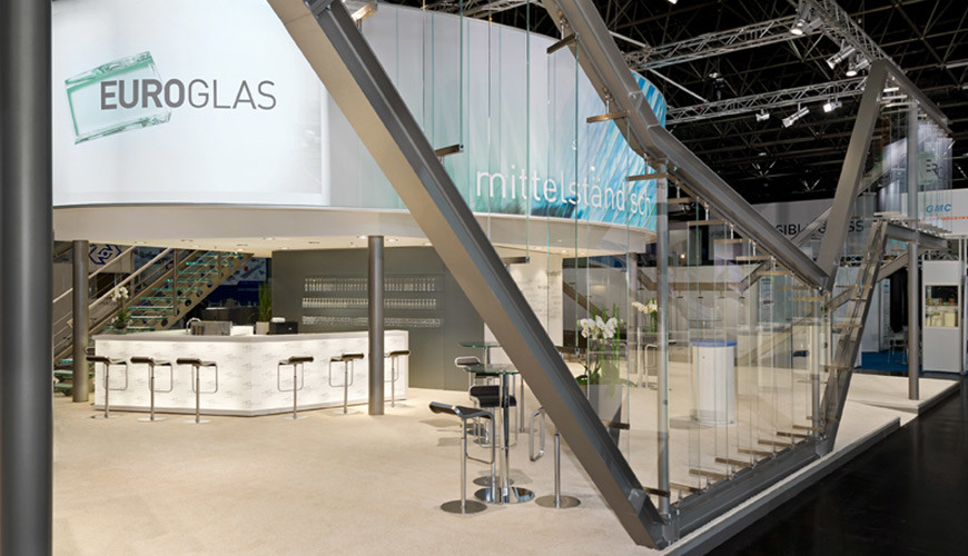 Stand du salon glasstec 2012